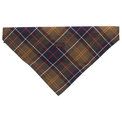 Image of Barbour Tartan Dog Bandana