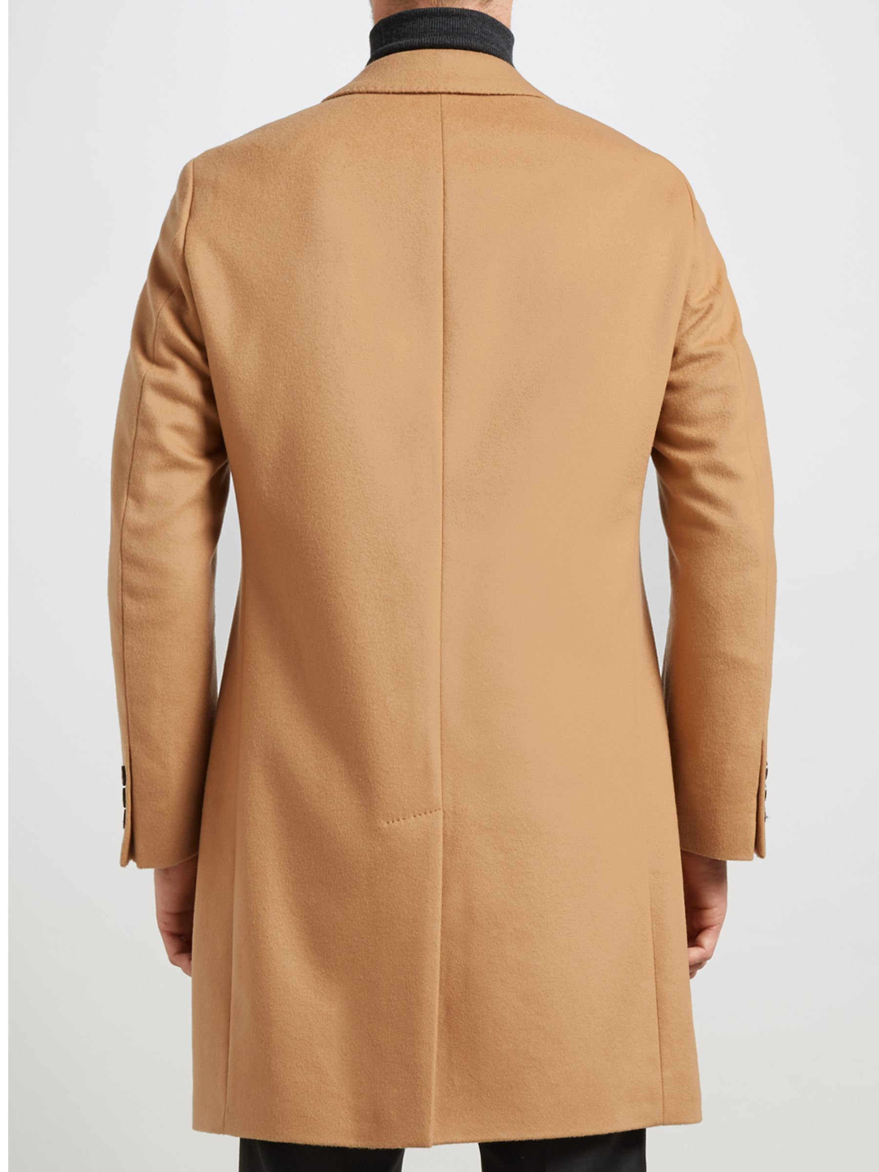 camel coat hugo boss