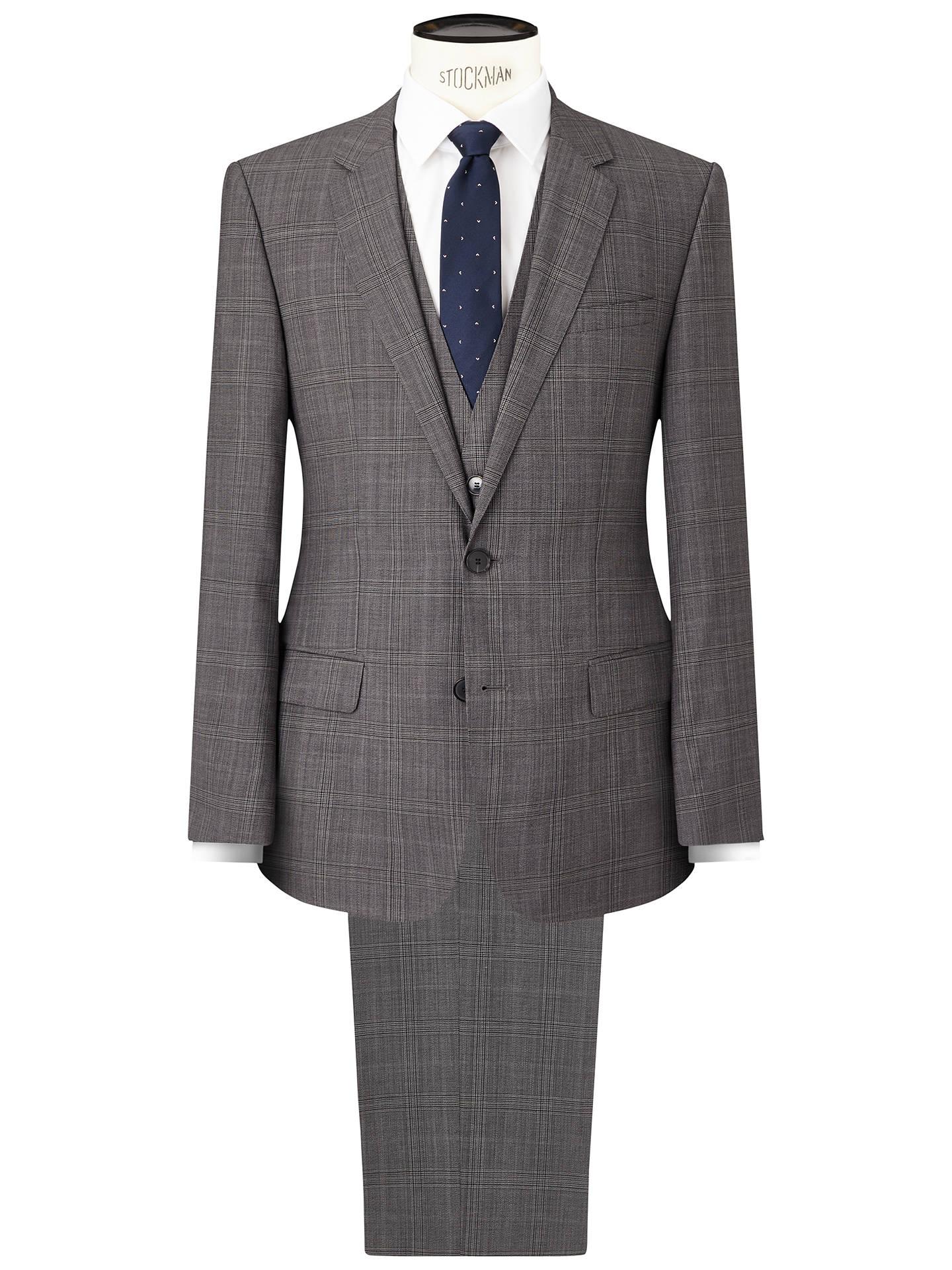 81731ffd429868 HUGO by Hugo Boss C-Huge/Genius Virgin Wool Three Piece Suit, Medium ...