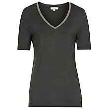 Buy Reiss Flossy Embellished Jersey T-Shirt Online at johnlewis.com