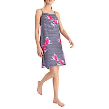 Buy Joules Cherie Orchid Stripe Chemise, Navy Floral Online at johnlewis.com