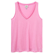 Buy Joules Kay Jersey Vest, Pink Online at johnlewis.com
