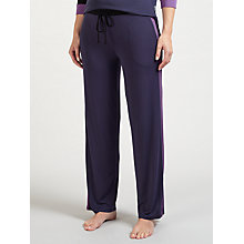 Buy DKNY Jersey Lounge Bottoms, Purple Online at johnlewis.com