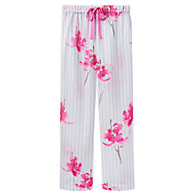 Buy Joules Caroll Orchid Stripe Pyjama Bottoms, Blue/Pink Online at johnlewis.com