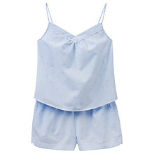 Buy Joules Minny Stripe Dobby Camisole And Short Set, Blue/Pink, Blue/Pink Online at johnlewis.com