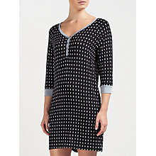 Buy DKNY 3/4 Length Sleeve Jersey Night Dress, Purple/Multi Online at johnlewis.com