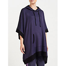 Buy DKNY Jersey Poncho, Purple Online at johnlewis.com