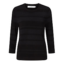 Buy John Lewis Self Stripe Crew Neck Jumper Online at johnlewis.com