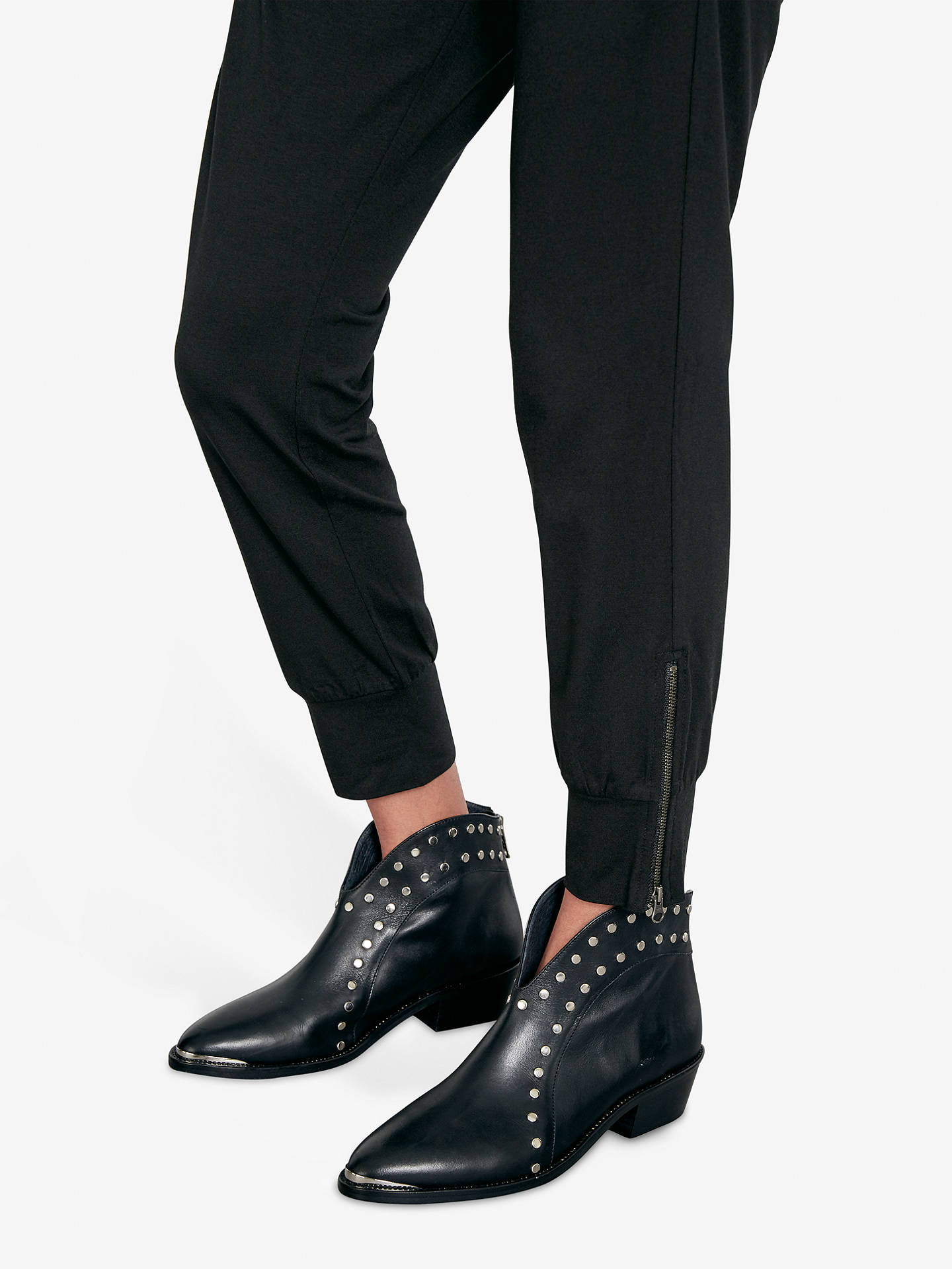 f5a9df141284 ... Buy hush Amie Joggers, Black, XS Online at johnlewis.com