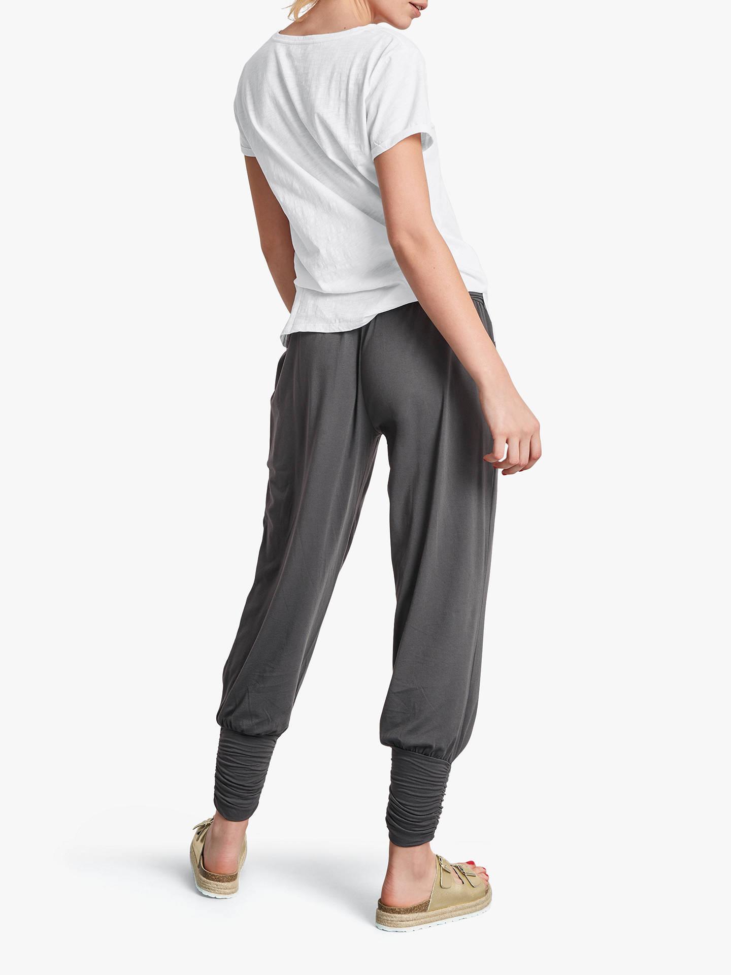 385b708c94 hush Long Harem Trousers, Charcoal