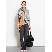Buy hush Washed Joggers, Charcoal Online at johnlewis.com