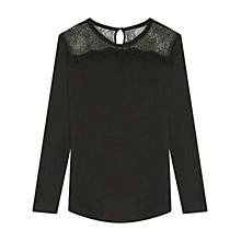 Buy Gerard Darel Secret T-Shirt, Black Online at johnlewis.com