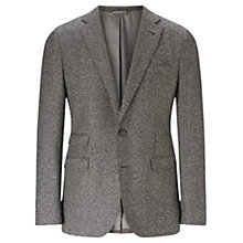 Buy Jigsaw Mouline Houndstooth Jacket, Grey Online at johnlewis.com