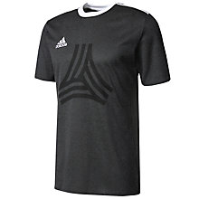 Buy Adidas Tango Logo Football T-Shirt, Black Online at johnlewis.com