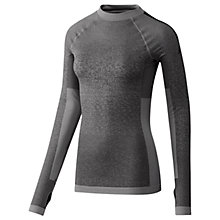 Buy Adidas Seamless Long Sleeve Training Top, Black Online at johnlewis.com