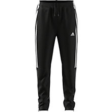 Buy Adidas Boys' 3-Stripe Tiro Tracksuit Bottoms, Black Online at johnlewis.com