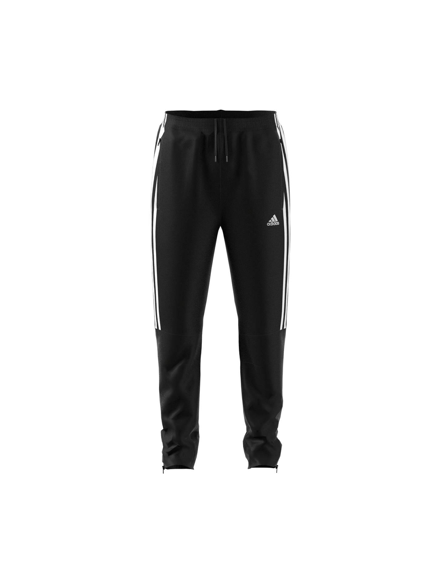 2042ac56a Adidas Boys' 3-Stripe Tiro Tracksuit Bottoms, Black at John Lewis ...