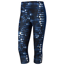 Buy Adidas Supernova 3/4 Length Graphic Running Tights, Blue Online at johnlewis.com