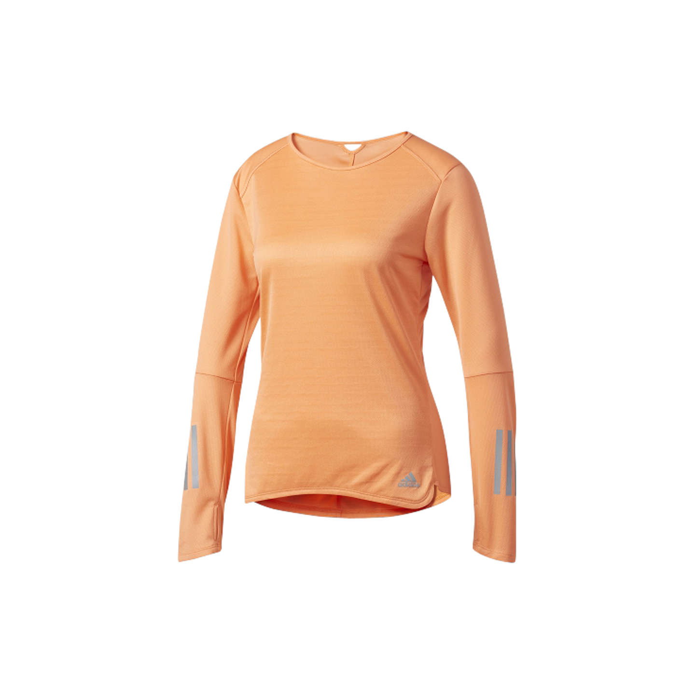 Camiseta de running de larga manga larga reflectante reflectante con respuesta de de Adidas, naranja en 6ad4ddb - hotlink.pw