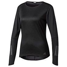 Buy Adidas Response Reflective Long Sleeve Running T-Shirt Online at johnlewis.com