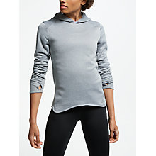 Buy Adidas Response Running Hoodie, Black Online at johnlewis.com