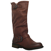 Buy Miss KG Winter Knee High Boots, Brown Online at johnlewis.com