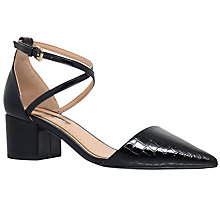 Buy Miss KG Ava Block Heeled Court Shoes, Black Online at johnlewis.com