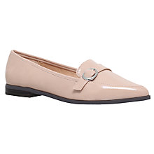Buy Miss KG Neeve Pointed Toe Loafers, Nude Online at johnlewis.com