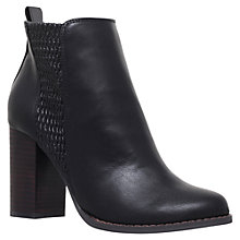 Buy Miss KG Scorpion Block Heeled Ankle Boots, Black Online at johnlewis.com