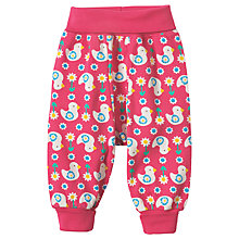 Buy Frugi Organic Baby Parsnip Duck Trousers, Pink Online at johnlewis.com