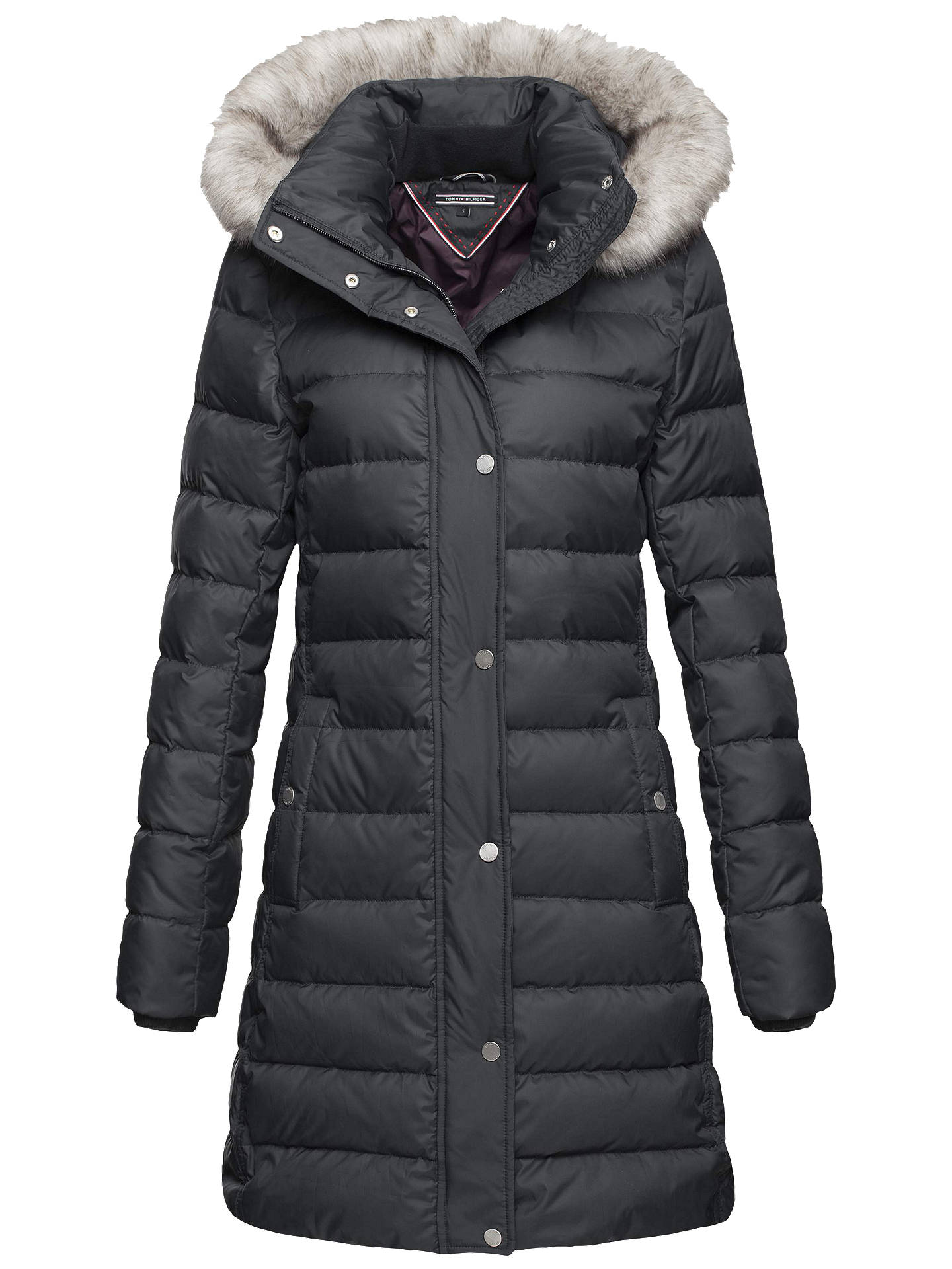 b7b2ad2a Buy Tommy Hilfiger Tyra Down Coat, Masters Black, S Online at johnlewis.com  ...