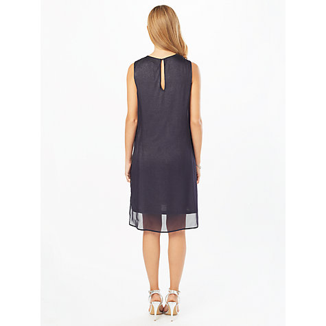 Buy Phase Eight Clara Sparkle Dress, Grey Online at johnlewis.com