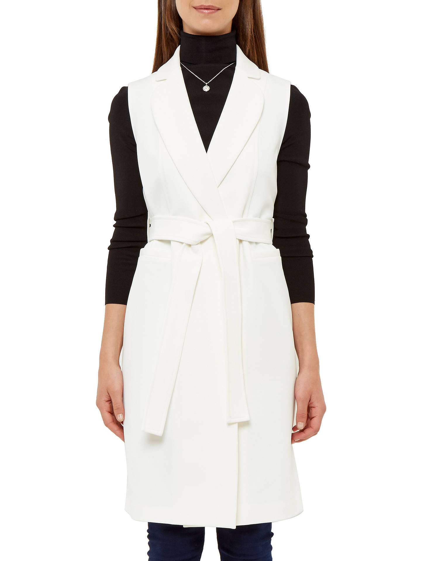 25b80d67b4732 ... Buy Ted Baker Longline Sleeveless Jacket