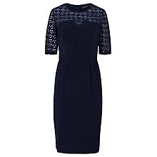 Buy Sugarhill Boutique Audra Lace Detail Dress, Navy Online at johnlewis.com