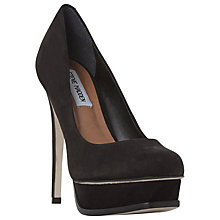 Buy Steve Madden Kiss Platform Stiletto Heel Court Shoes Online at johnlewis.com