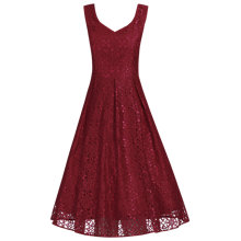 Buy Jolie Moi Sweetheart Neck Pleated Lace Dress Online at johnlewis.com