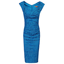 Buy Jolie Moi Crossover Bust Ruched Shift Dress Online at johnlewis.com