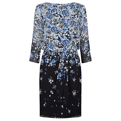 Product photo of Damsel in a dress delfina silk dress blossom blue