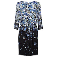 Buy Damsel in a dress Delfina Silk Dress, Blossom Blue Online at johnlewis.com