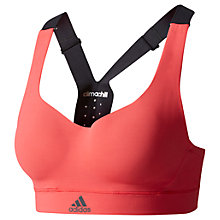 Buy Adidas Committed Chill Sports Bra, Pink Online at johnlewis.com