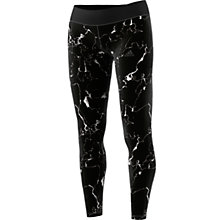 Buy Adidas Ultimate Long Marble Print Training Tights, Black/Multi Online at johnlewis.com