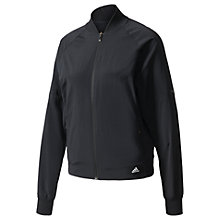 Buy Adidas Winners Women's Training Bomber Jacket, Black Online at johnlewis.com