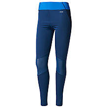 Buy Adidas WOW Training Tights, Blue Online at johnlewis.com