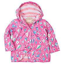 Buy Hatley Girls' Waterproof Colourful Kites Rain Jacket, Pink Online at johnlewis.com