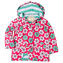 Buy Hatley Girls' Waterproof Graphic Daisy Rain Jacket, Pink Online at johnlewis.com