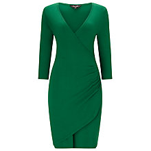 Buy Phase Eight Maisie Wrap Dress, Emerald Online at johnlewis.com