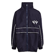 Buy Woodford High School Tracksuit Top, Navy Blue Online at johnlewis.com