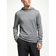 Buy Adidas Response Men's Running Hoodie, Black Online at johnlewis.com