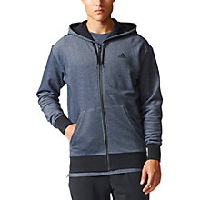 Buy Adidas Seasonal Training Hoodie, Navy Online at johnlewis.com