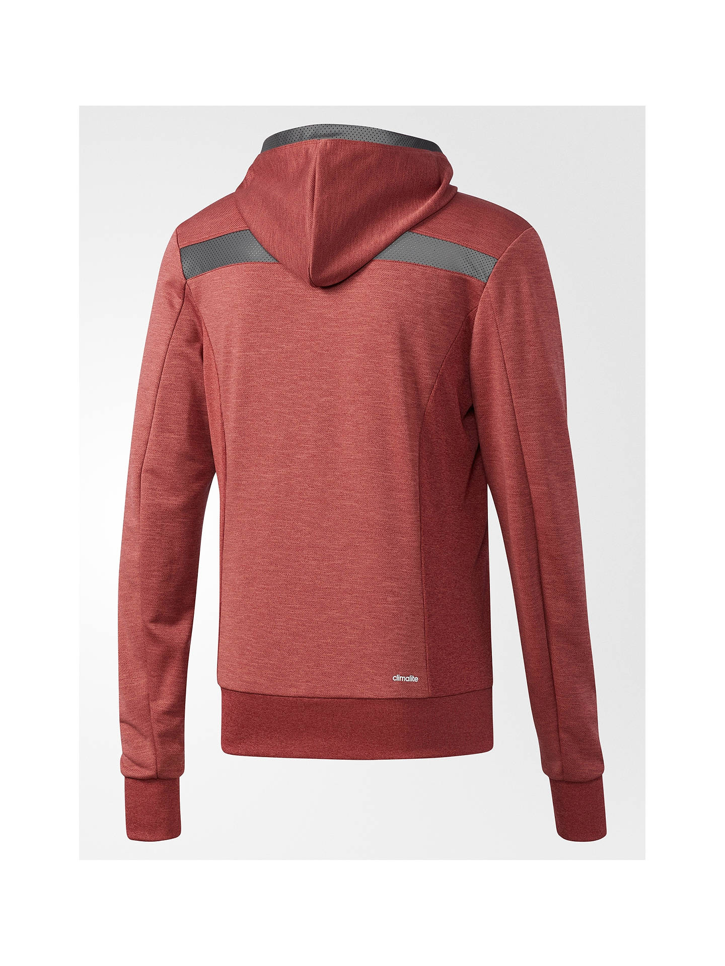 1fd03a7079f02 ... Buy Adidas City Run Knit Hoodie, Red, M Online at johnlewis.com ...